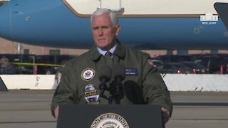 RINO Mike Pence Meets with U.S. Navy Troops
