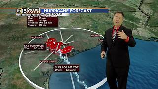 Hurricane Harvey makes landfall as category 4 storm - Video