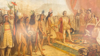 Notre Dame University Covers Murals of Christopher Columbus