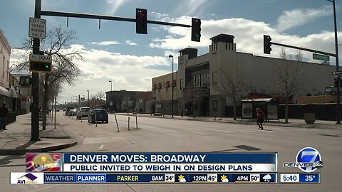 Public invited to talk about changes to Broadway in Denver