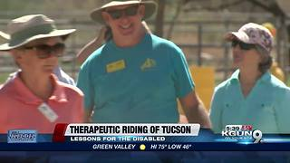 Therapeutic riding of Tucson helps people with disabilities - Video