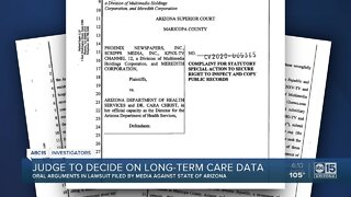 Judge to decide on long-term care data