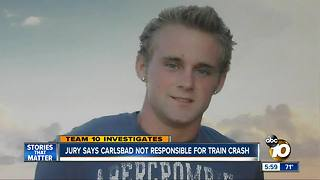 TEAM 10: jury says Carlsbad not responsible for train crash - Video