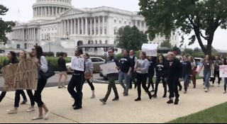 Protesters Rally Against Confirmation of Kavanaugh