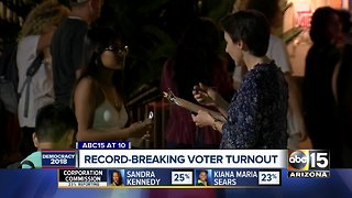 Record-breaking voter turnout in 2018 midterm elections