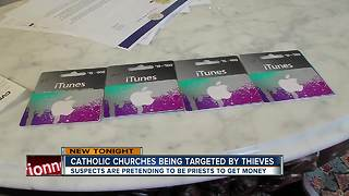 Catholics targeted in iTunes gift card scam - Video