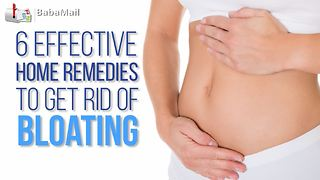 6 effective and natural ways to get rid of abdomional bloating - Video