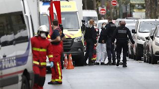 Suspect In Paris Knife Attack Says He Was Targeting Charlie Hebdo