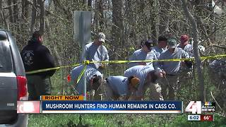 Human remains found in Cass County - Video