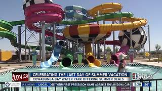 Spend your last day of summer vacation at Cowabunga Bay - Video