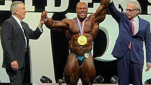 """Phil Heath"" Wins Mr. Olympia 7 Times, Mamdouh ""Big Ramy"" Elssbiay Runner Up"