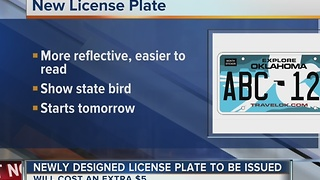 Oklahoma to begin reissuing new license plates - Video