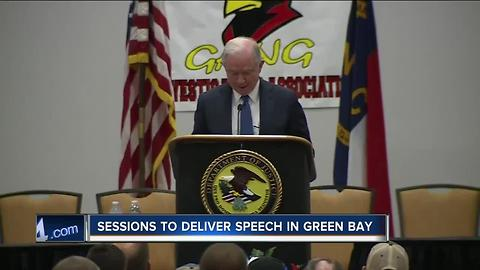 U.S. Attorney General Jeff Sessions to speak in Green Bay Tuesday