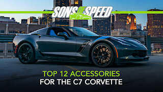 Top 12 C7 Corvette Accessories