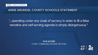 Anne Arundel Teachers Union frustrated, wants more COVID communication from board