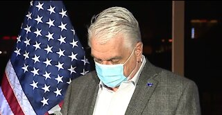 Nevada Gov. Steve Sisolak tests positive for COVID-19