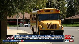 Free WiFi for Kern High School District Students