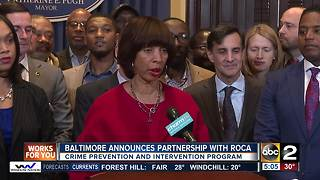 Mayor Pugh announces plan to bring anti-violence program in Baltimore