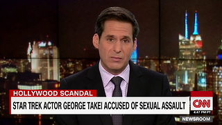 [1280x720] Actor George Takei denied sexually assaulting model in 1981 - CNN - Video