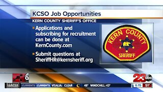 Kern County Sheriff's Department discusses open positions