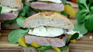 Learn how to make this zesty fruit steak sandwich - Video