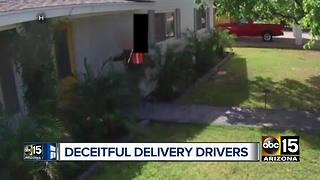 Valley Amazon customers blame deceitful delivery drivers for package problems - Video