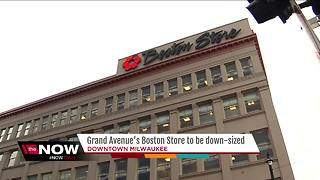 Bon-Ton to downsize Boston Store at Grand Avenue Mall for more office space - Video