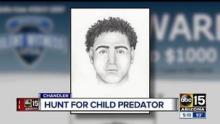 Authorities searching for man who assaulted child in 2014 - Video
