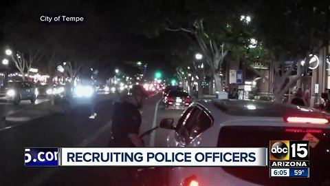Valley law enforcement looking for recruits