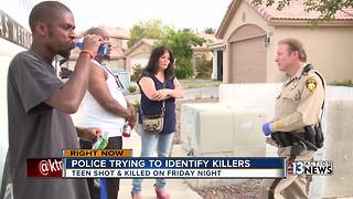 Police help community heal after North Las Vegas teenager is shot and killed - Video