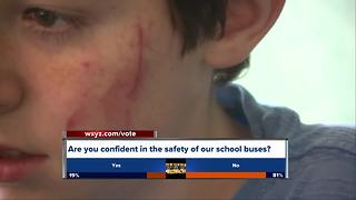 Child with Autism attacked on the school bus - Video