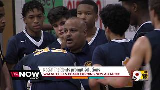 Basketball coach has idea for confronting racism in schools - Video