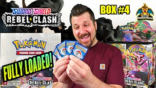 Rebel Clash Booster Case Opening (Box 4) | Pokemon Cards Opening