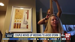 Couple scrambles to get married in Jupiter ahead of Dorian