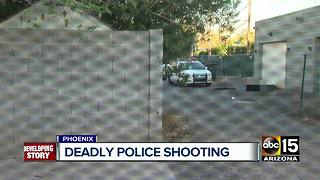 Deadly police shooting in Phoenix after man holds woman hostage