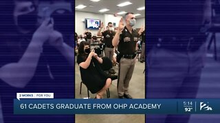 61 cadets graduate from OHP Academy