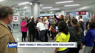An adoption with heart in WNY - Video