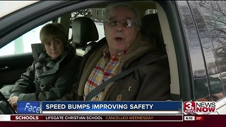 88th Street Neighborhood speed bumps