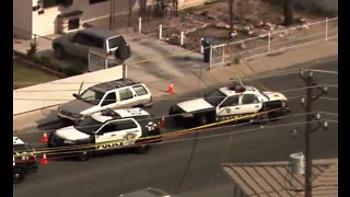 Domestic call leads to police shooting near downtown LV