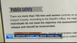 Canyon County jail bond town hall meeting