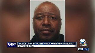 Veteran Riviera Beach police officer dies while off-duty