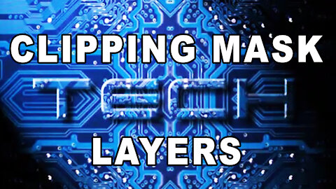 Photoshop Tutorial - Clipping Mask Layers