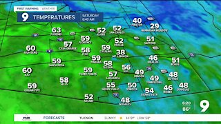 A warm, dry and breezy weekend