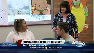 Sabino English teacher finalist for award - Video