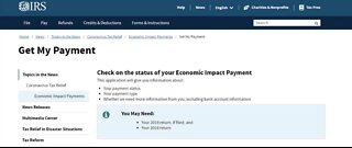 New IRS website helps you track stimulus check