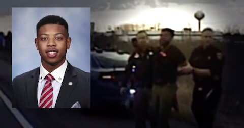 VIDEO: Rep. Jewell Jones feuds with sheriff's deputies after DUI arrest