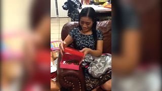 Slithering Christmas Surprise - Video