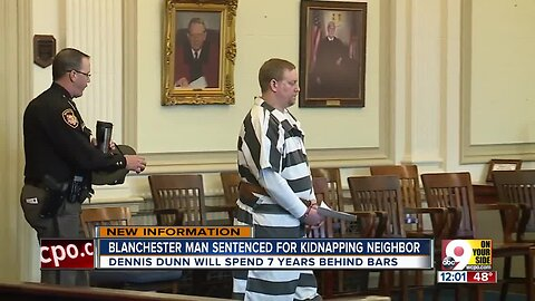 Blanchester man sentenced for kidnapping neighbor