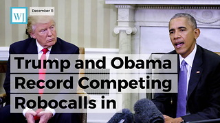 Trump And Obama Record Competing Robocalls In Alabama's Highly Contested Senate Race - Video