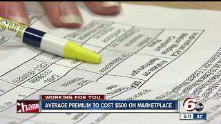 Average healthcare premium to cost $500 on marketplace - Video